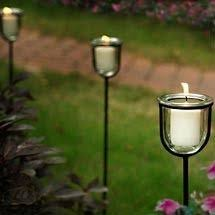 Garden Candle Chandelier Garden Candles Candle Chandelier Outdoor Home Garden By