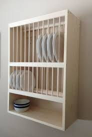Wooden Storage Shelf Designs by 129 Best Open Shelves And Plate Racks Images On Pinterest