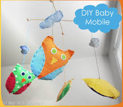 diy baby mobile by naptime crafters honeybear lane