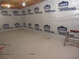 basement wrap aggroup inc clarke basement house wrap