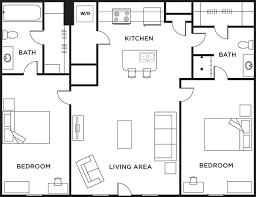 2 bed 2 bath house plans astonishing design 2 bedroom bath floor plans 17 best ideas about