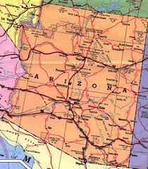Map Of Arizona Cities Tag Archive For