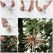 wonderful diy gold ornaments from straw