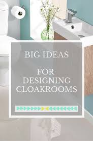 big ideas for small cloakrooms love chic living