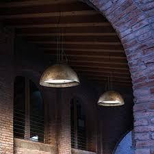 Exterior Pendant Lighting Italian Dome Lighting Collective