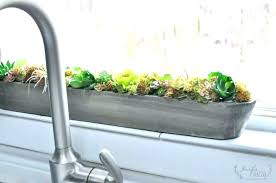 indoor windowsill planter windowsill planters windowsill garden windowsill herb planter box
