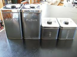 vintage kitchen canisters sets fascinating stainless steel vintage kitchen canister sets