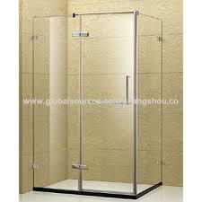 Shower Door Screen China Frameless Shower Screen Hinge Shower Door With Polished