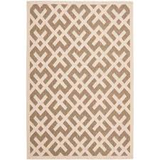 Safavieh Courtyard Indoor Outdoor Area Rug Rectangle Safavieh Brown Area Rugs Rugs The Home Depot