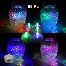 submersible led lights multicolor 96 pieces