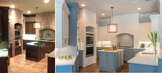 Before And After Kitchen Remodels by Classic With A Twist Client Project A Before And After Kitchen