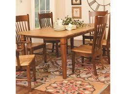 Amish Dining Room Chairs Daniel U0027s Amish Tables Distressed Rectangular Dining Table