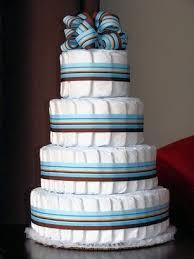 amazon com just diapers 4 tier baby diaper cake baby shower gift