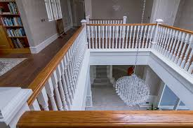 Curved Handrail Bespoke Staircase Design Stair Manufacture And Professional