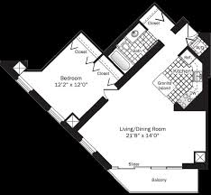 Garden State Plaza Floor Plan Chicago River North Apartments Grand Plaza Apartments