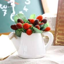 artificial plants home decor compare prices on artificial strawberries plants online shopping