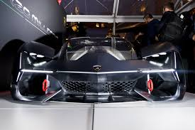 lamborghini engine in car the lamborghini terzo millennio concept is a lightning strike from