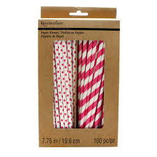 paper straws craft it printed paper straws by recollections