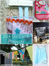 20 oil cloth projects to sew