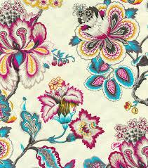 home decor print fabric hgtv home bespoke blossoms peacock joann