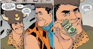 creators flintstones comic bringing existential