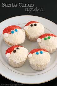 santa claus cupcakes the recipe rebel