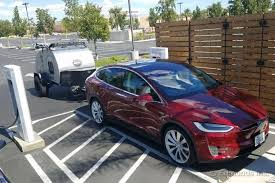 range and charging while towing a trailer 2016 tesla model x