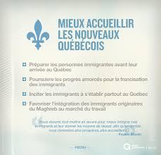 bureau d immigration du québec à mieux accueillir les nouveaux québécois parti québécois