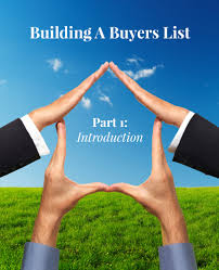 building a buyers list part 1 introduction via the