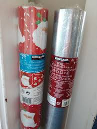 reversible christmas wrapping paper brand new unwrapped costco reversible christmas wrapping paper