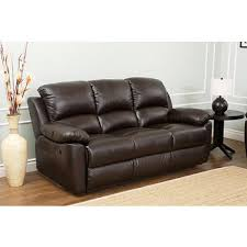 Brown Leather Recliner Sofas Abbyson Living Toscana Italian Leather Reclining Sofa Espresso