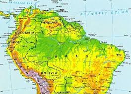 south america map rainforest suriname tribes adopt rainforest conservation