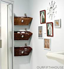 Storage Boxes For Bathroom Wall Storage Window Box Bathroom Storage Hanging Baskets On Hooks
