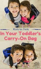 South Dakota traveling with toddlers images What to pack in your toddler 39 s carry on bag traveling family blog jpg