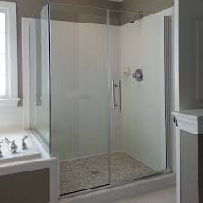 Agalite Shower Doors by Paragon Series Frameless Double Swing Saloon Style French Style