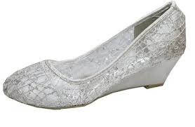 silver wedding shoes wedges cheap wedge wedding shoes find wedge wedding shoes deals on line
