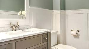 wainscoting ideas for bathrooms wainscoting ideas bathroom how to cover dated bathroom tile with