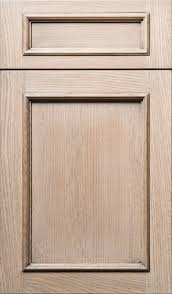 Rift Cut White Oak Veneer Meridian Wr Door In Plainsawn White Oak In Driftwood Stain With