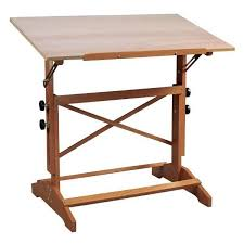 Artists Drafting Table Alvin Pavillon And Drawing Table Unfinished Wood Top 24 X 36