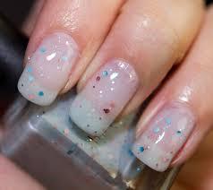 deborah lippmann glitter in the air nail lacquer review photos
