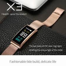 life bracelet app images Smart bracelet x3 waterproof swimming touch screen bluetooth heart jpg