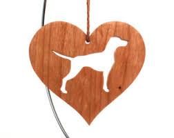 wood vizsla ornament etsy