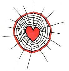 tattoo spider web elbow spiderweb heart tattoo design by natzs101 on deviantart
