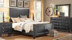 bedroom sets in black black queen bedroom sets for sale 5 6 piece suites