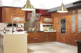 cuisine en bois moderne modle de cuisine beautiful modele de decoration de cuisine ideas