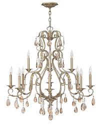 Classic Chandelier Minor Details Home Hinkley Lighting 4778sl Carlton Traditional