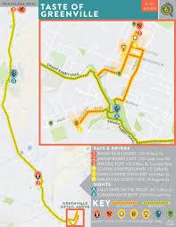 Bike Map Chicago by Taste Of Greenville U2014 Bikabout