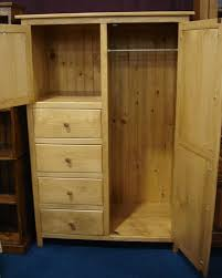 Unfinished Pine Bedroom Furniture by Wardrobe Closet Unfinished Roselawnlutheran