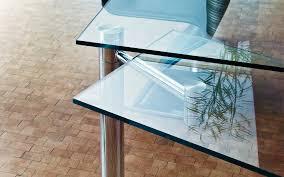 Esszimmertisch Glas Chrom Moderner Esstisch Glas Rechteckig Auszieh 1400 Casanova By
