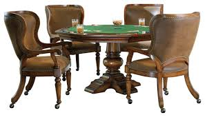 Poker Table Chairs Hooker Furniture Waverly Place Reversible Top Poker Table